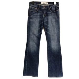 Abercrombie & Fitch Low Rise Bootcut Jeans Sz 26